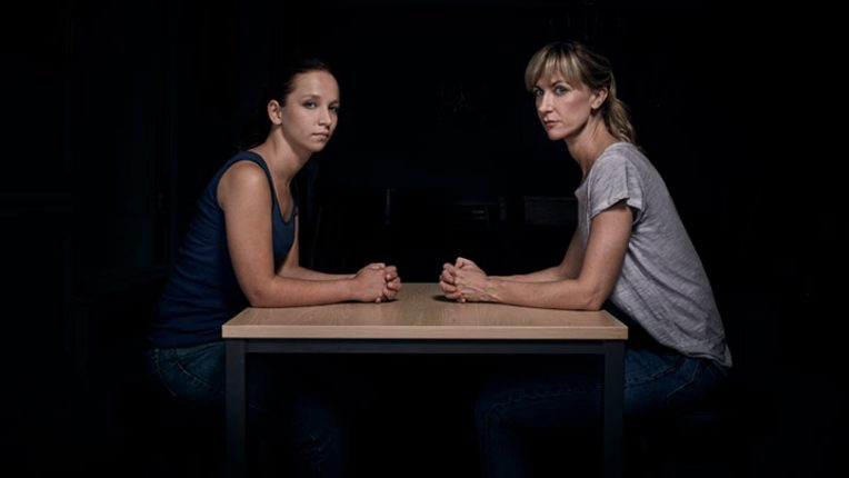 Molly Windsor and Katherine Kelly in ITV's Cheat