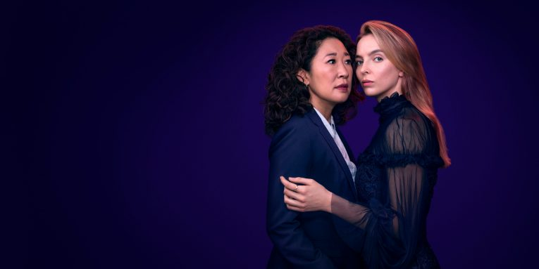 Sandra Oh and Jodie Comer in series 2 of Killing Eve