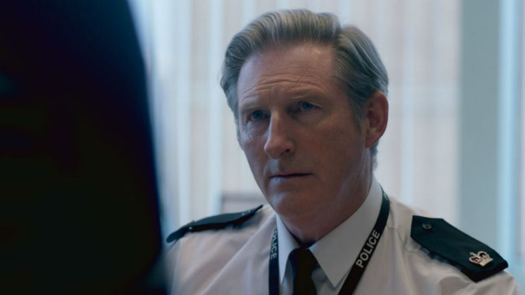 Adrian Dunbar as Ted Hastings in BBC's Line of Duty