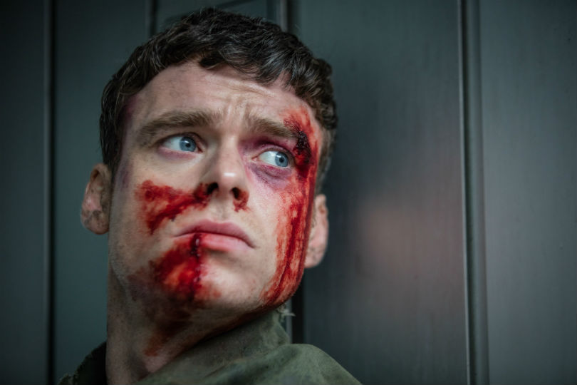 Richard Madden as David Budd in BBC's Bodyguard