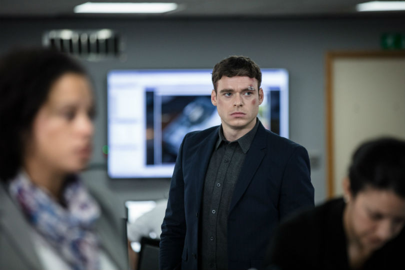 Richard Madden in BBC's Bodyguard