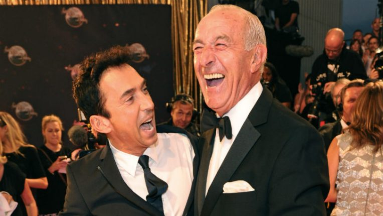 Bruno Tonioli and Len Goodman