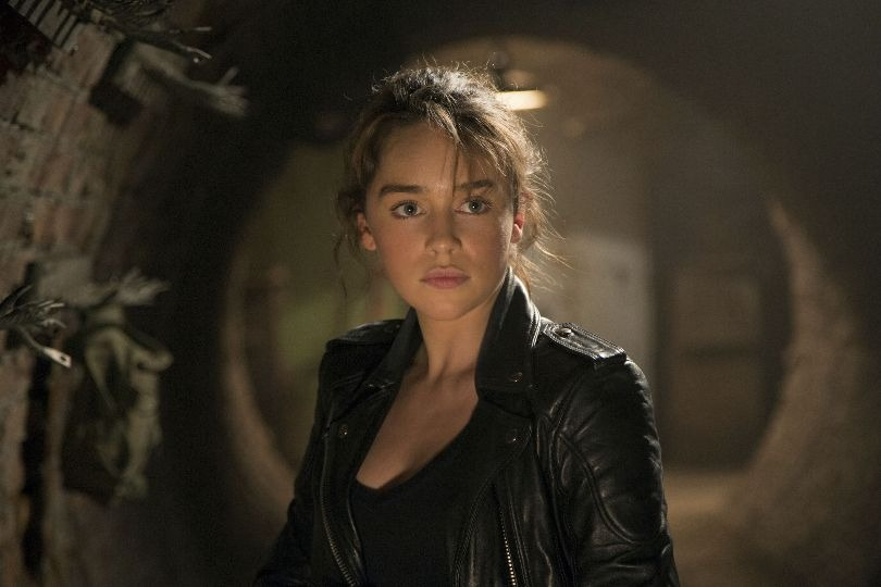 Emilia Clarke as Sarah Connor in Terminator: Genisys