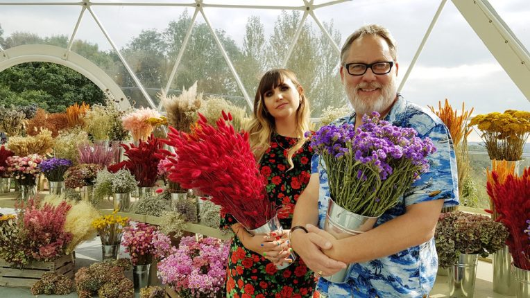 The Big Flower Fight Natasia Demetriou Vic Reeves