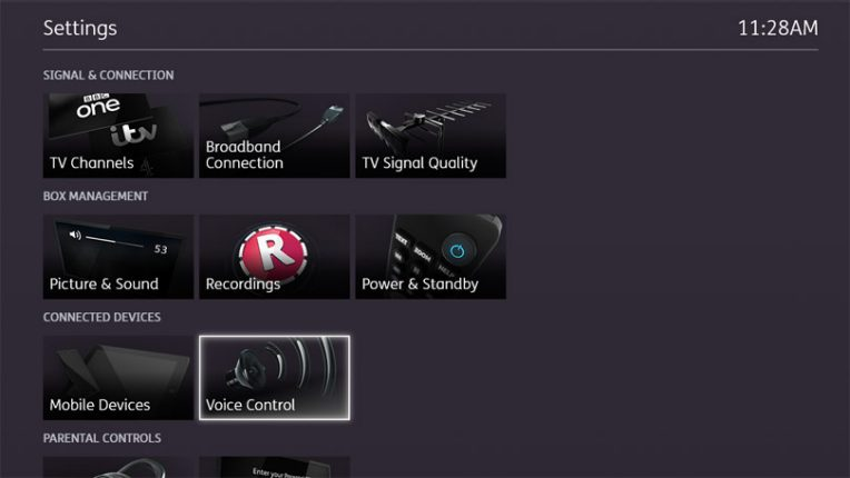 BT TV box set up