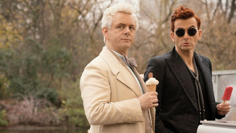 Good Omens filming