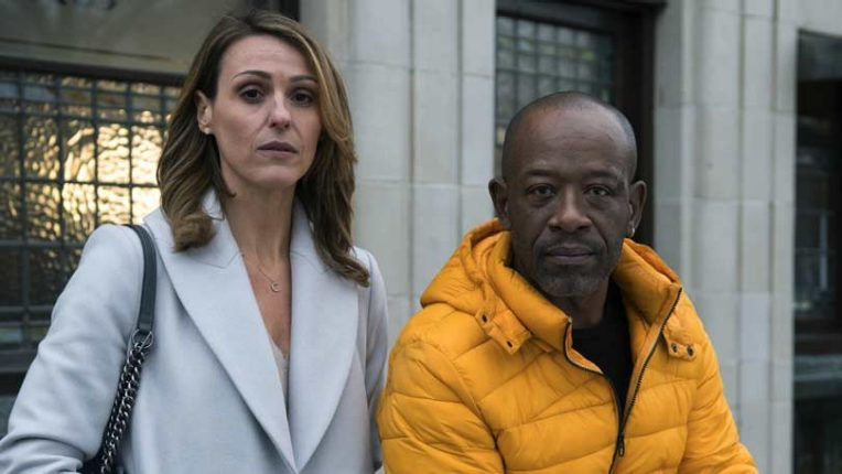 Lennie James and Suranne Jones together in Save Me