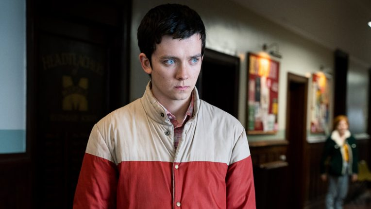 Asa Butterfield as Otis in Sex Education on Netflix