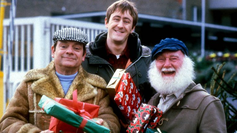 Only Fools and Horses cast in a Christmas special