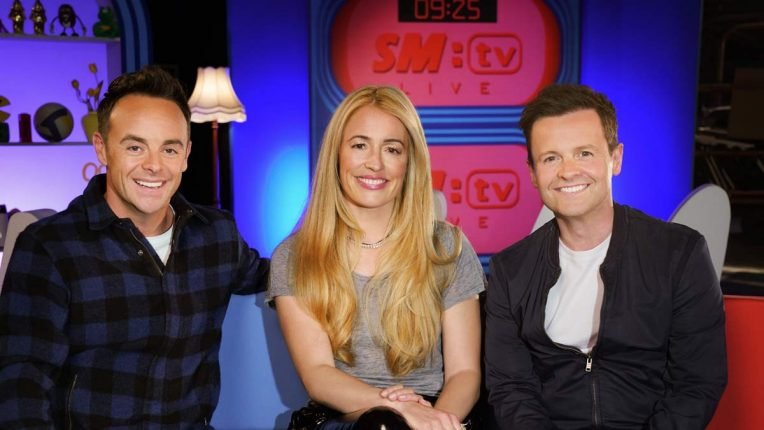 Ant and Dec reunited with Cat Deeley