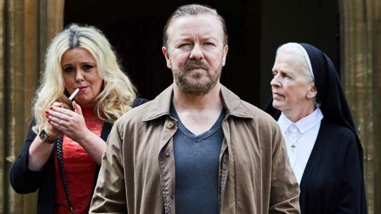 Ricky Gervais in After Life