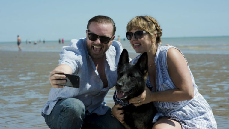 After Life Ricky Gervais and Kerry Godliman