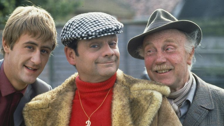 Del Boy, Rodney and Grandad in Only Fools and Horses