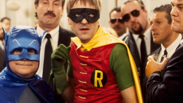 Only Fools and Horses Christmas special - Del Boy, Rodney dressed as Batman and Robin