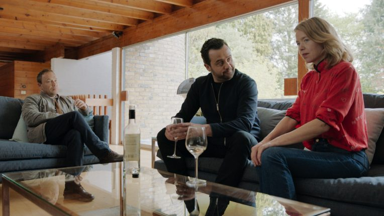Stephen Graham, Anna Maxwell Martin and Daniel Mays in Code 404