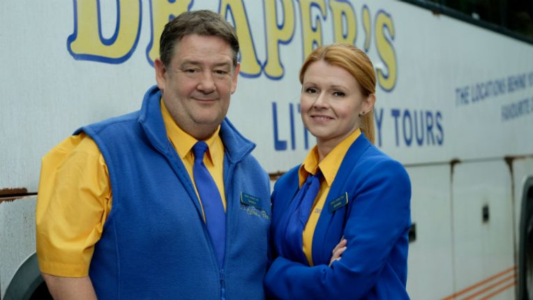Dial M for Middlesbrough Johnny Vegas and Sian Gibson