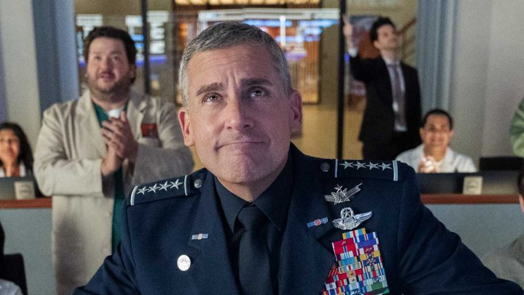 Steve Carell in Netflix comedy Space Force