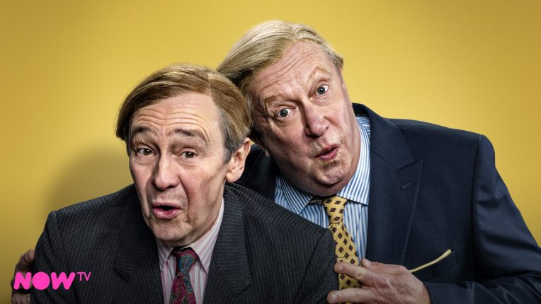 Paul Whitehouse and Simon Day in the 'Suits You' Fast Show sketch