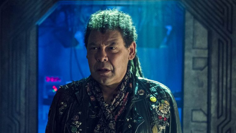 Craig Charles as Lister in Red Dwarf: The Promised Land