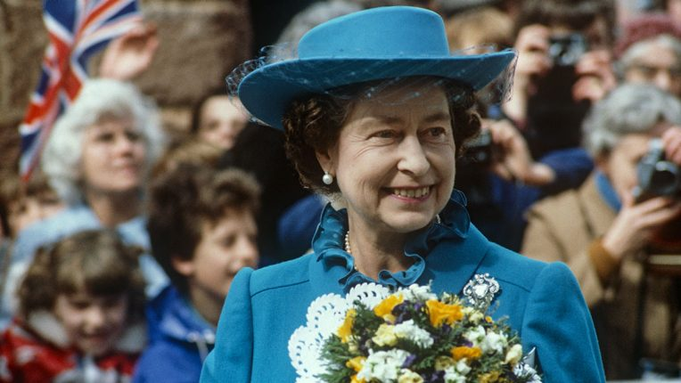 The Queen in 1982