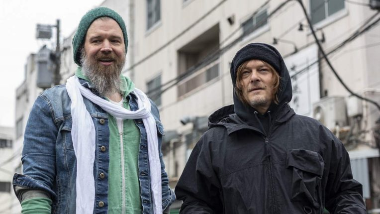The Walking Dead star Ryan Hurst filming Ride with Norman Reedus