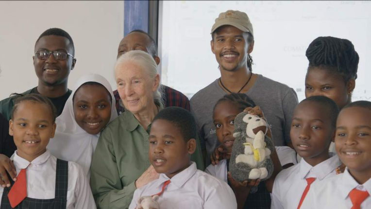 Jane Goodall in The Hope