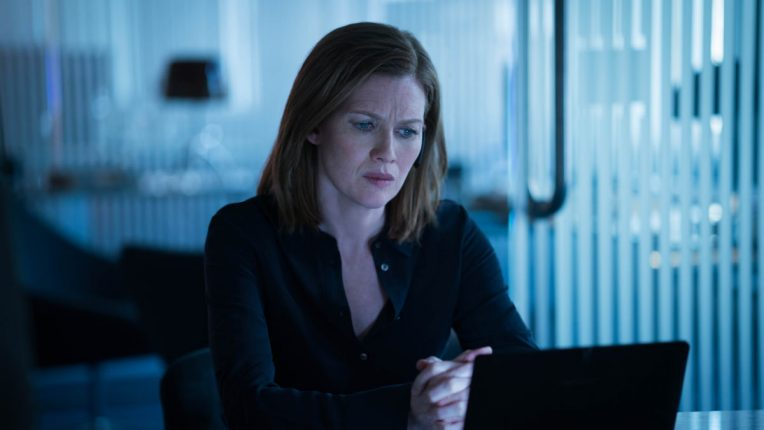 Mireille Enos in Hanna season one