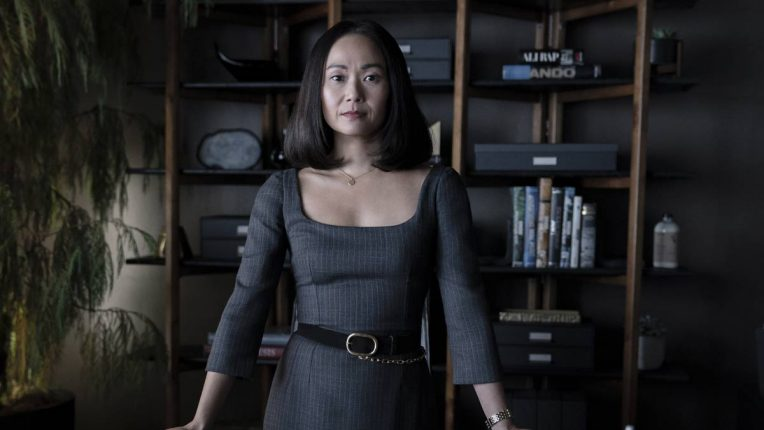 Hong Chaus as Audrey Temple in Homecoming