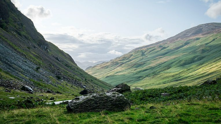 The scenery of the Lake District as seen in The A Word
