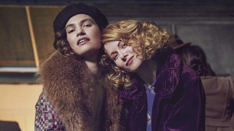 The Pursuit of Love Lily James and Emily Beecham