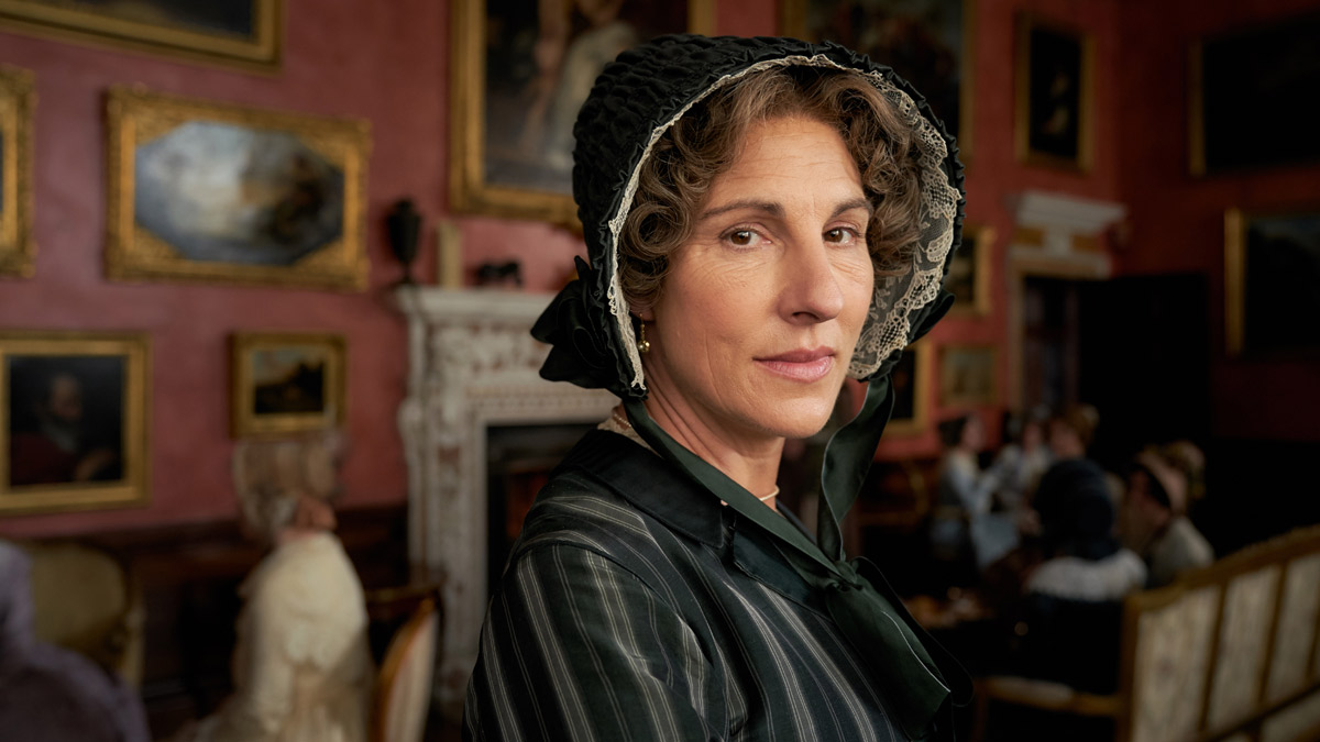 Belgravia S Tamsin Greig Interview Corset Troubles Anne S
