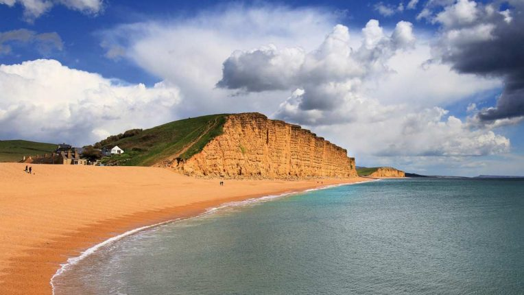 The Jurassic Coast in Dorset, where ITV's Broadchurch was filmed for three series