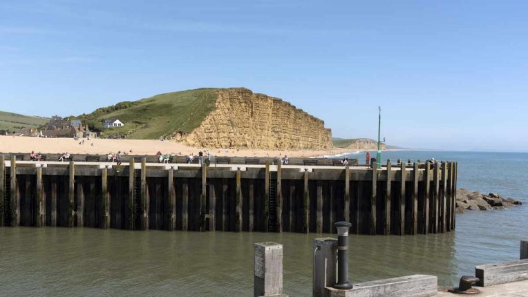 The Dorset coast used for filming ITV drama Broadchurch