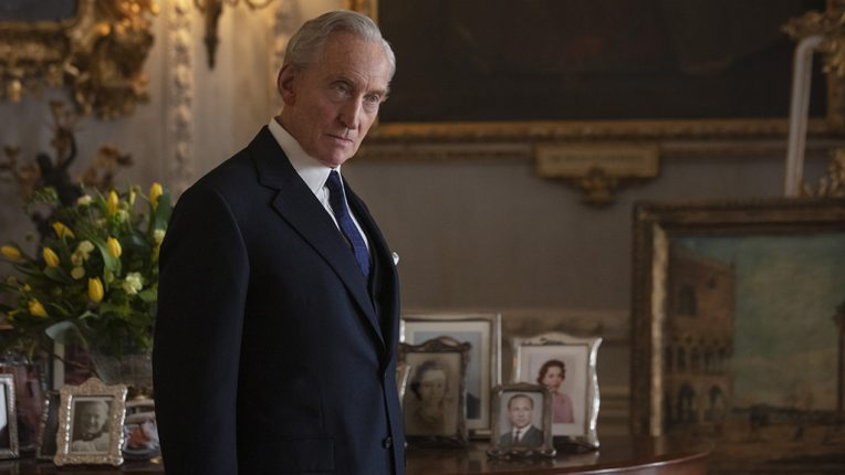 Charles Dance as Louis Mountbatten in The Crown