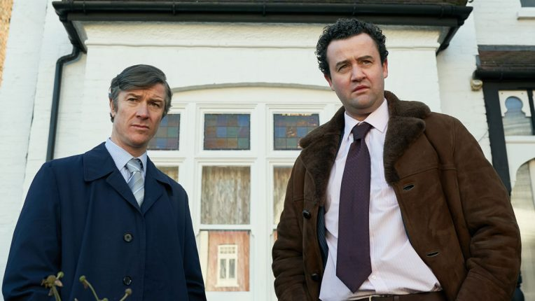 Barry Ward and Daniel Mays in Des