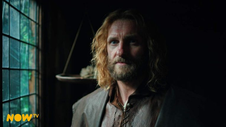 Steven Cree as Gallowglass in A Discovery of Witches
