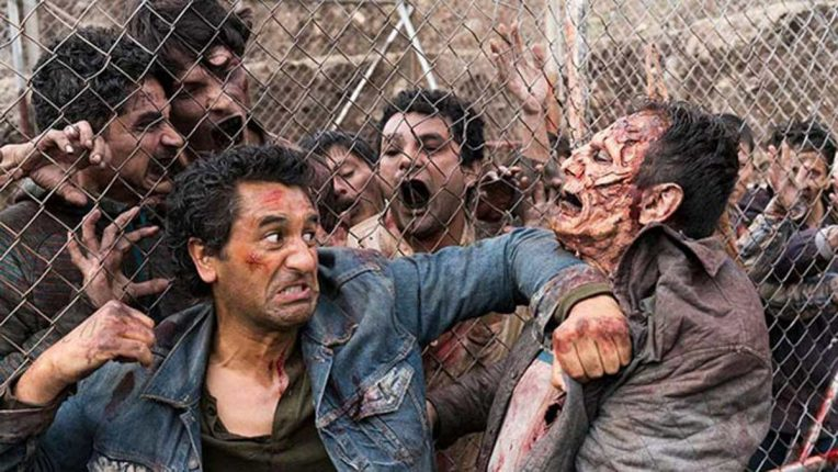 Cliff Curtis playing Travis Manawa in Fear the Walking Dead