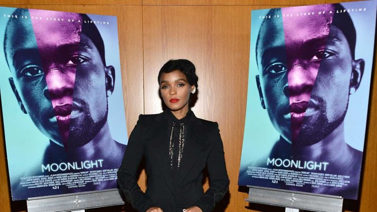 Janelle Monáe at the launch of Moonlight