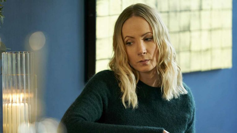 Joanne Froggatt as Laura in Liar on ITV