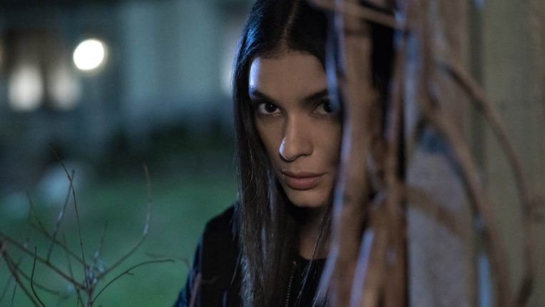 Laysla De Oliveira as Dodge in Locke and Key - Dodge is hiding in the shadows