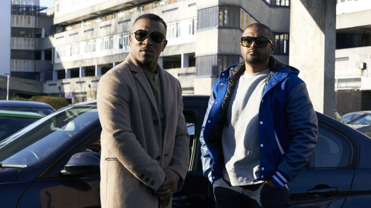 Noel Clarke and Ashley Walters in Bulletproof series 2