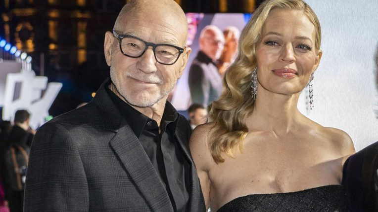 Patrick Stewart and Jeri Ryan at the UK premiere of Star Trek Picard