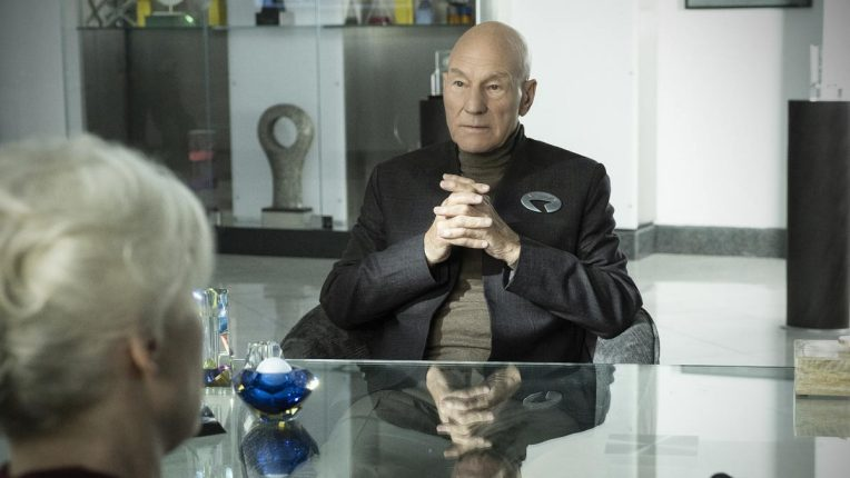 Sir Patrick Stewart returns as Jean Luc Picard on Amazon Prime Video