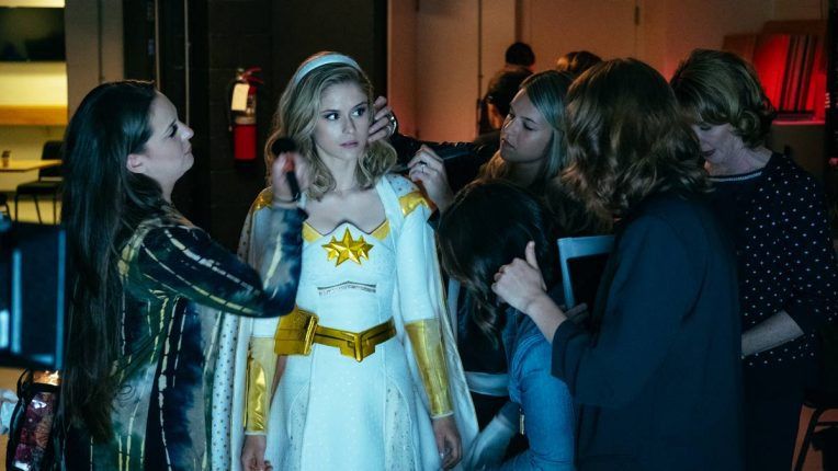 Erin Moriarty as Starlight in The Boys