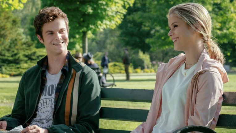 Jack Quaid and Erin Moriarty in The Boys as Hughie and Annie/Starlight