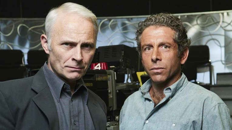Mark Bonnar and Elliot Levey as Paul Smith and David Briggs in Quiz