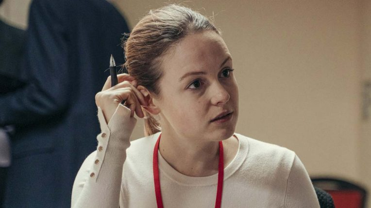 Kimberley Nixon as Hannah Mitchell in The Salisbury Poisonings
