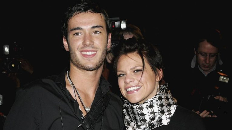 Jade Goody and Jack Tweed entering Celebrity Big Brother