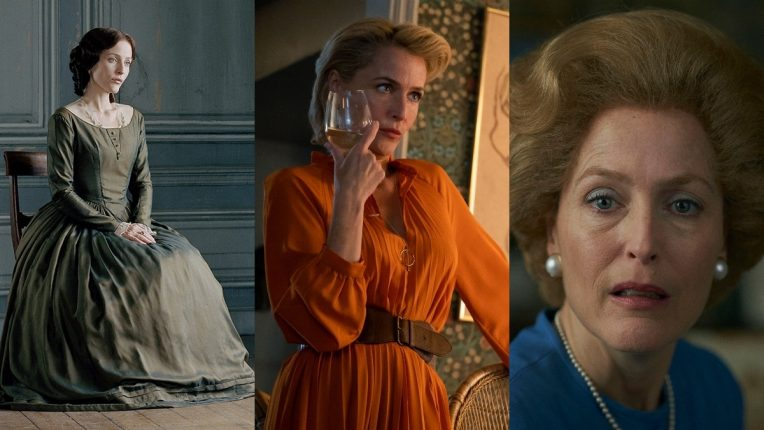 Gillian Anderson in Bleak House, Sex Education and The Crown