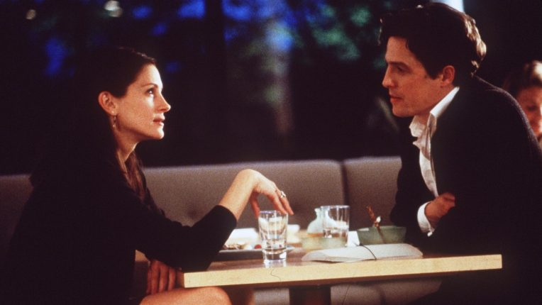 Julia Roberts and Hugh Grant in Notting Hill